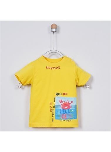 Panço Erkek Bebek T-Shirt 2011BB05008 Sarı